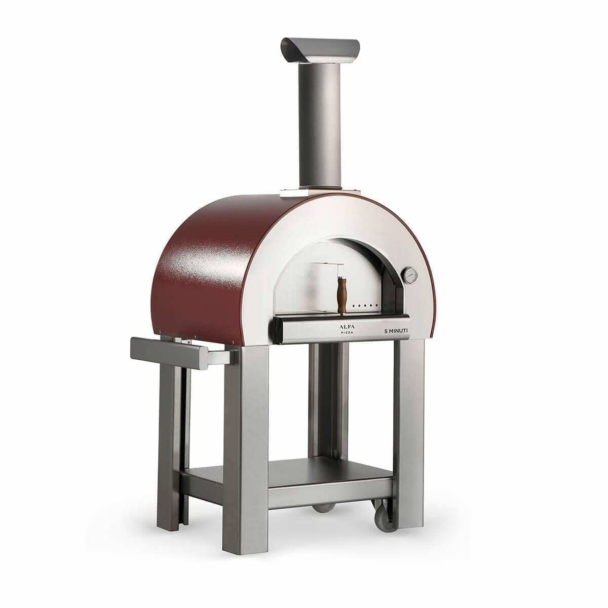 Chicago Outdoor Living's Alfa 5 Minuti Wood Fired Pizza Oven