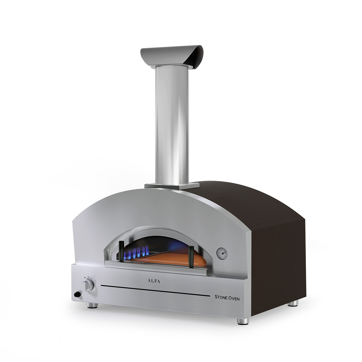Chicago Outdoor Living's Alfa Stone Gas Fired Pizza Oven