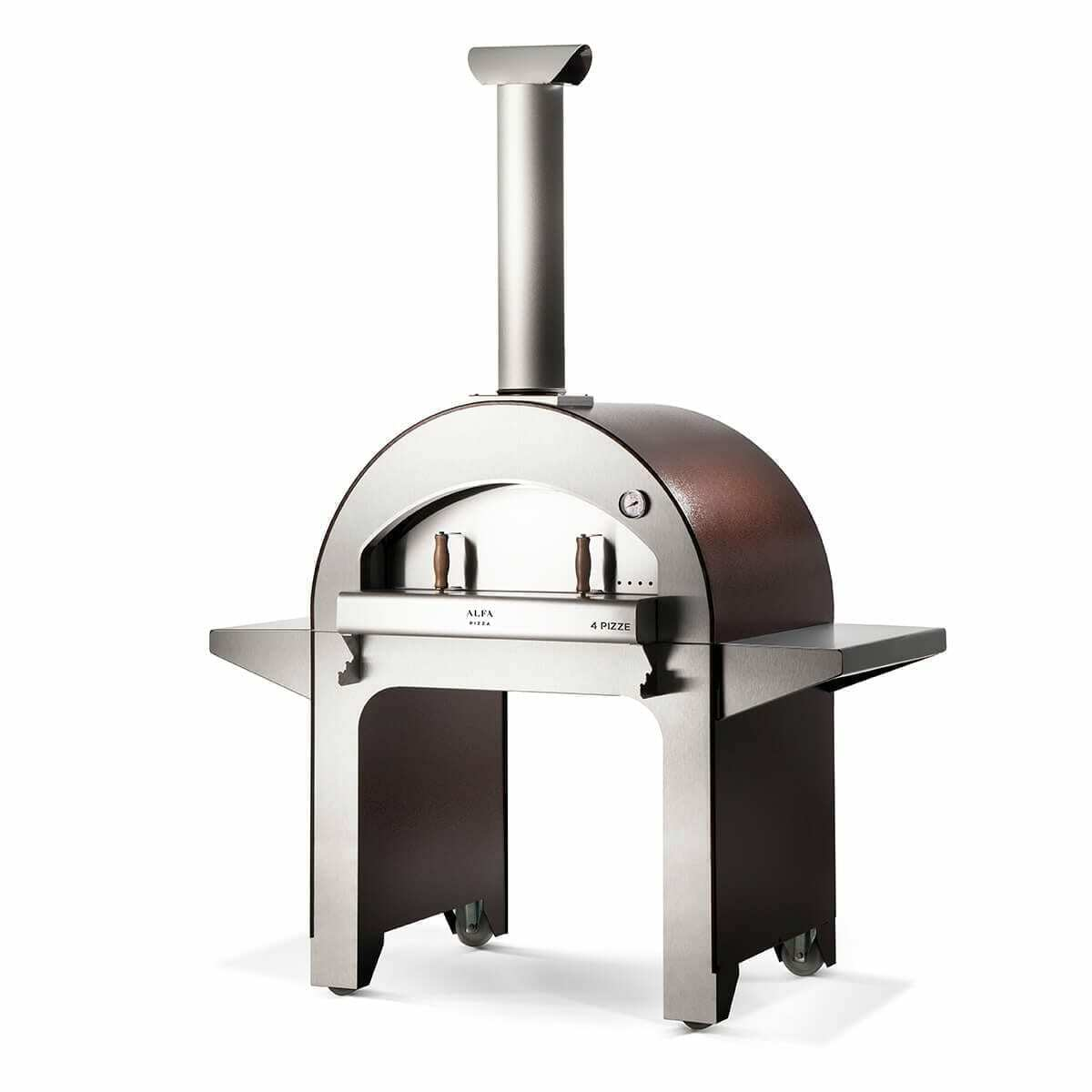 Chicago Outdoor Living's Alfa 4 Pizza Wood Fired Oven