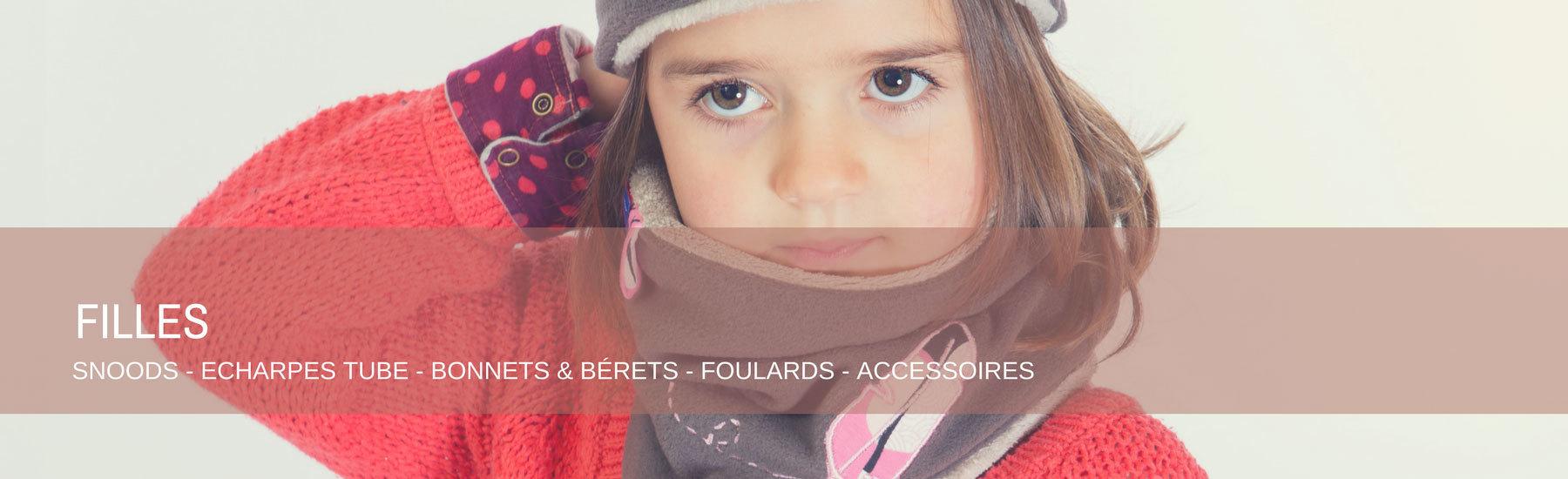 Echarpes et foulards tube, bonnets et bérets, accessoires, sacs, badges et miroirs filles red de pois