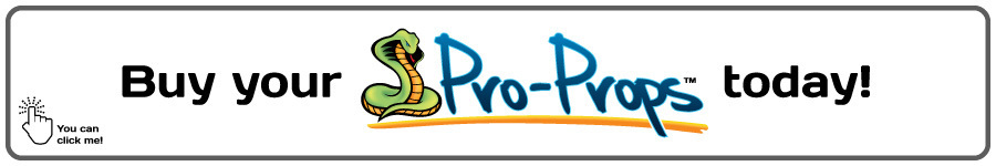 Purchase the Lizard/Turtle Pro-Props Kit now!