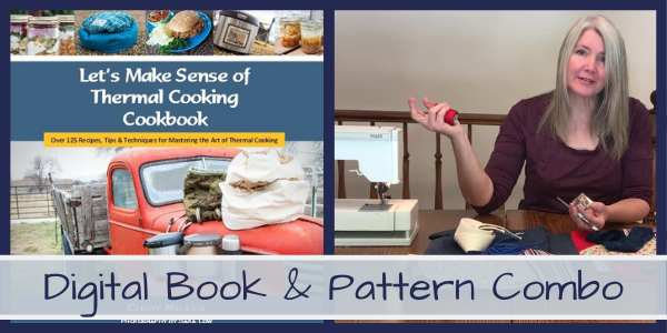 Buy a Cookbook and Pattern Combo