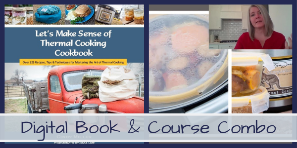 Purchase a cookbook and Cindy's course combo