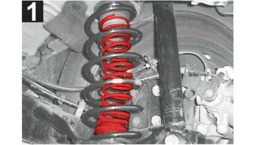 2 telaio rafforzato a molla Posteriore RENAULT ESPACE 1 2 tipo j11//j63//s63