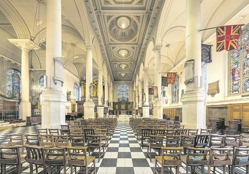 St Sepulchre's Church Seating View