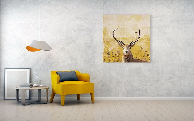 Romantic Image of a Stag