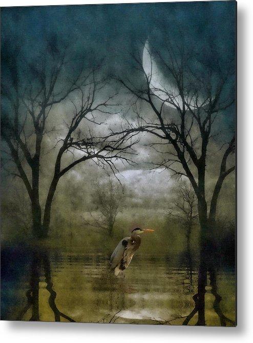 Heron by Moonlight