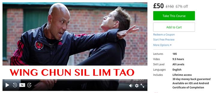 Wing Chun Sil Lim Tao £50 £150 67% off