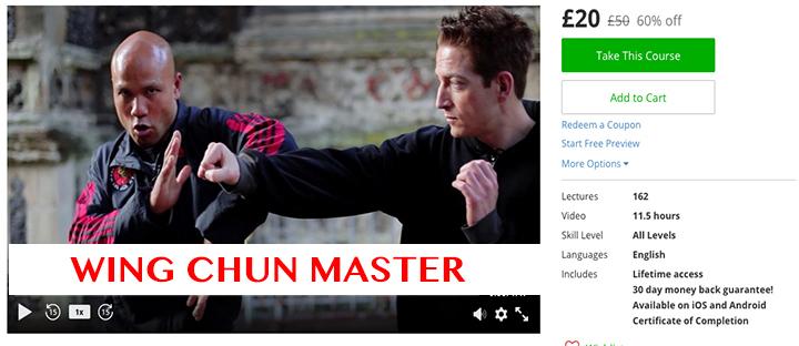 Wing Chun Master £20 £50 60% off