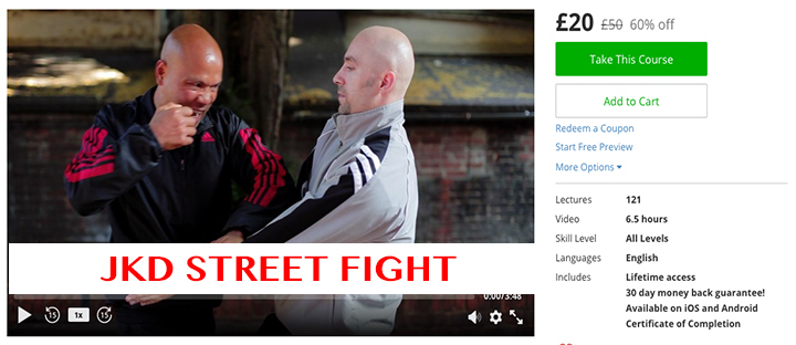 JKD Street Fight £20 £50 60% off