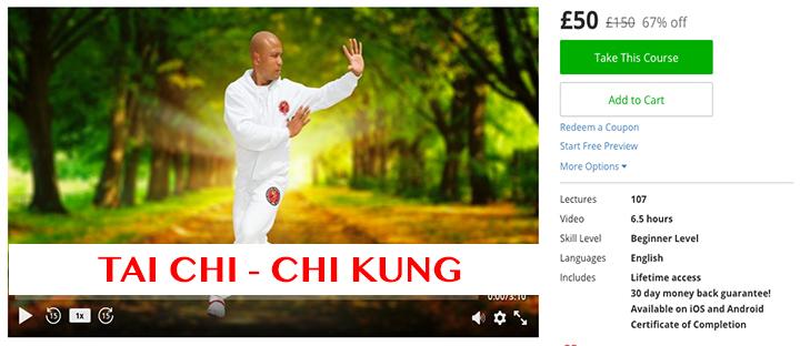 Tai Chi - Yang style- Chi Kung £50 £150 67% off