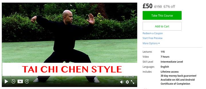 Tai Chi Chen Style £50 £150 67% off