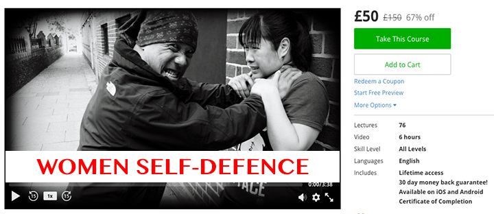 Women Self Defense £50 £150 67% off