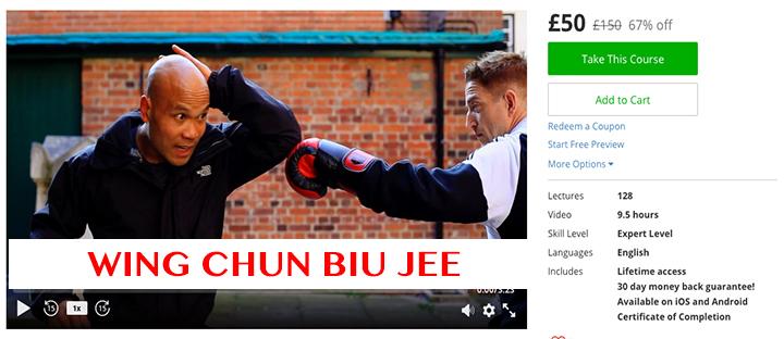 Wing Chun Biu Jee £50 £150 67% off