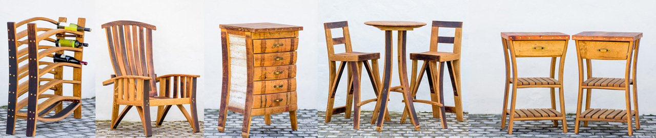 We Produce A Wide Range Of Quality Hand Crafted French Oak Wine Barrel  Furniture. Below Are Our Standard Products But We Are More Than Happy To  Make Orders ...