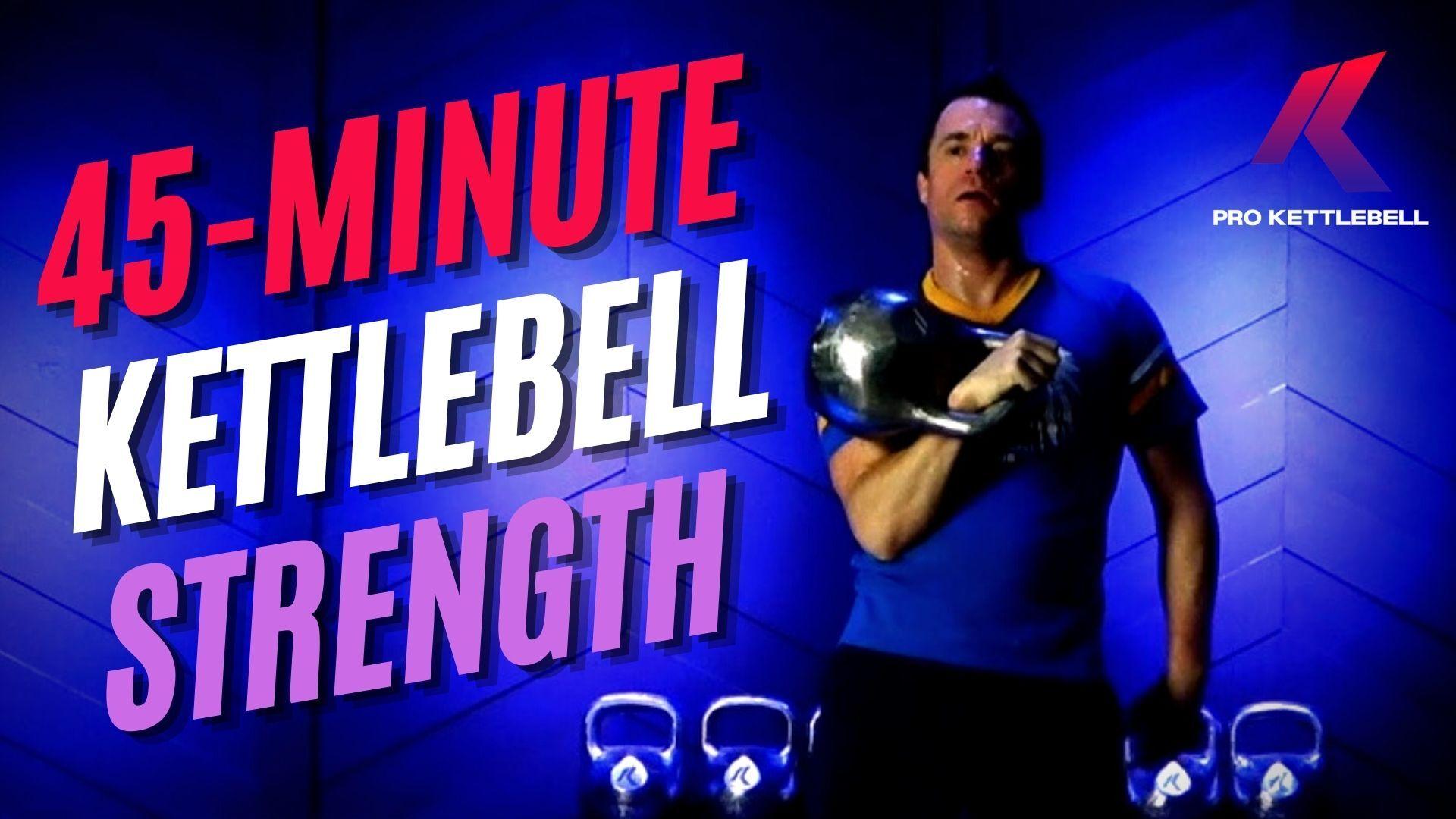 Kettlebell Strength Online Workout Video Class