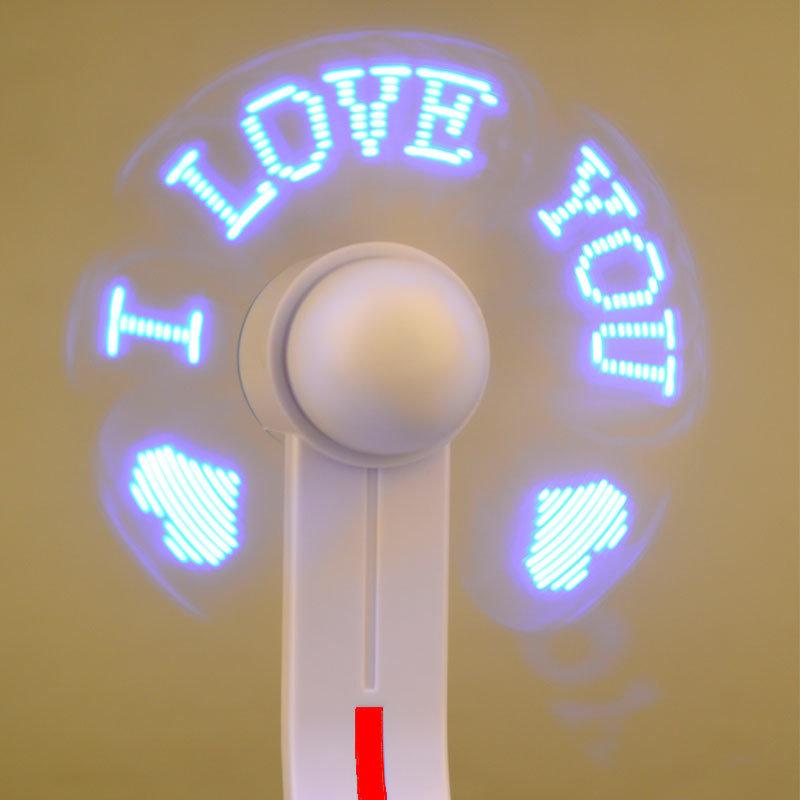 Ventilateur USB avec affichage LED