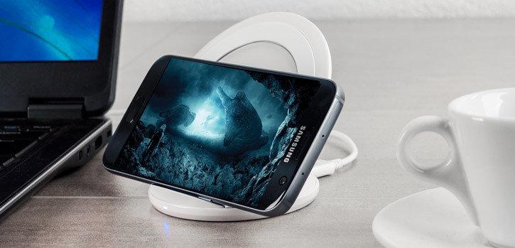 Chargeur rapide sans fil & station d'accueil pour smartphones - Blanc - accessoires smartphones - 2