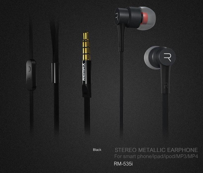 accessoires smartphone - ecouteur avec microphone remax