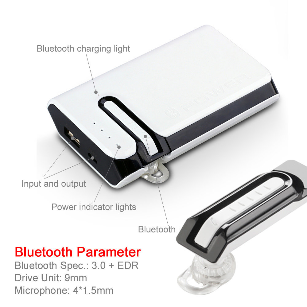 Power Bank BT-03 avec Casque BLUETOOTH  13