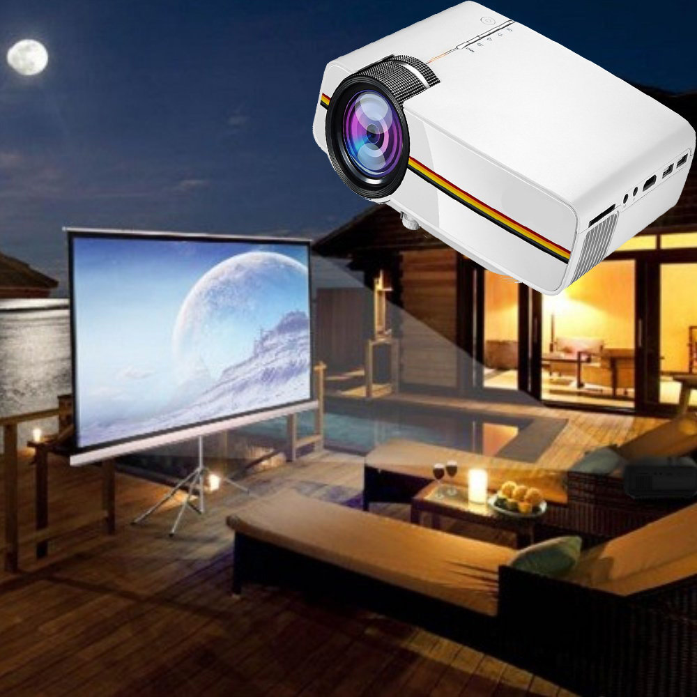 Mini projecteur LED portable 11
