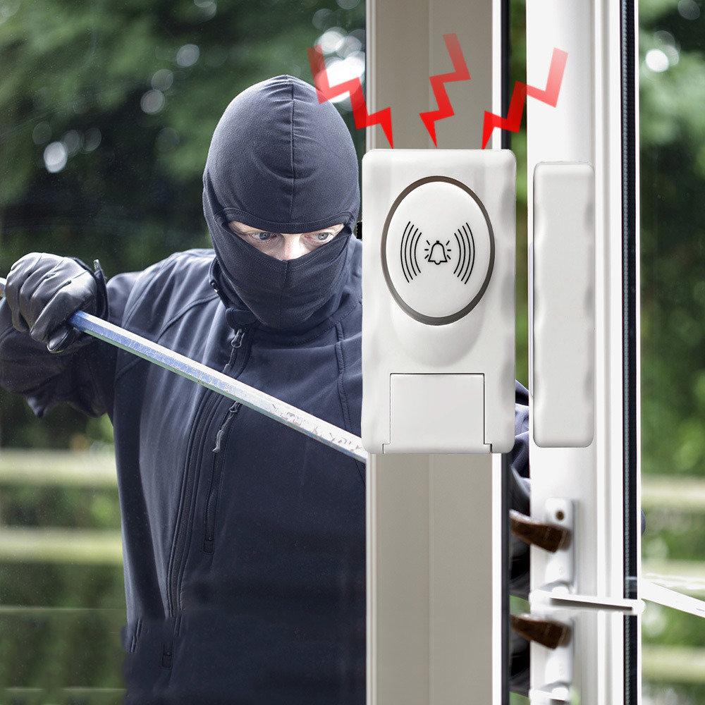 Mini alarme anti-effraction pour portes et fenêtres 11