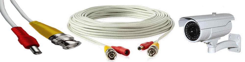 Câble coaxial pour caméra de sécurité et DVR - 5 Mètre 12