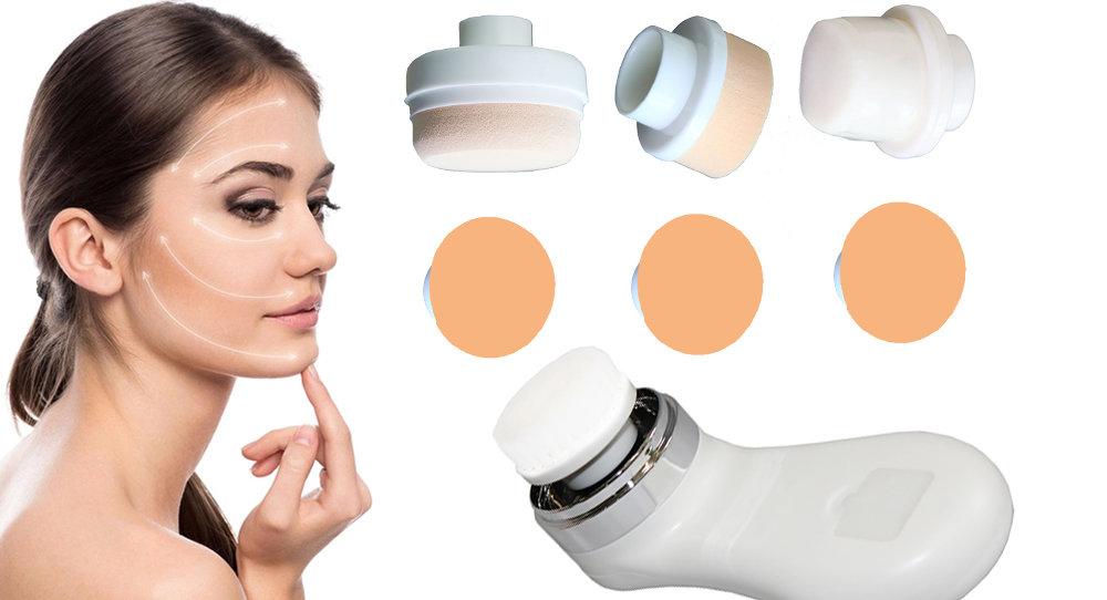 Brosse de massage et nettoyage pour le visage 7 en 1-11