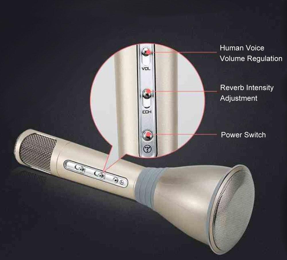 Microphone magique Karaoké avec Bluetooth 15