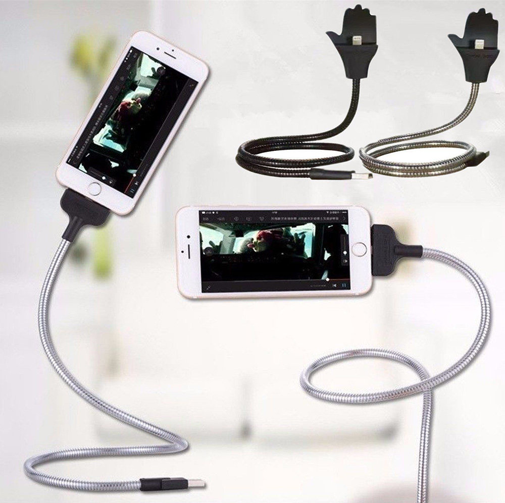 Câble support USB flexible pour iPhone 12
