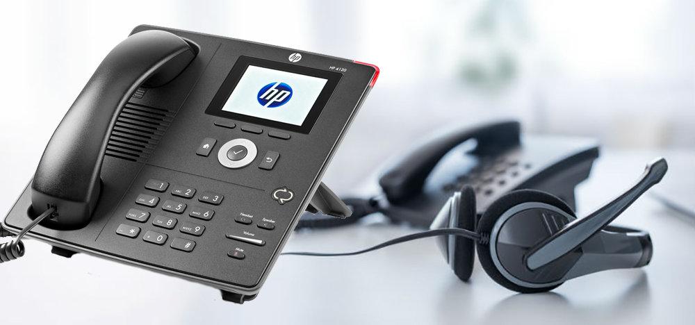 Téléphone de bureau IP Phone HP 4120 - 11