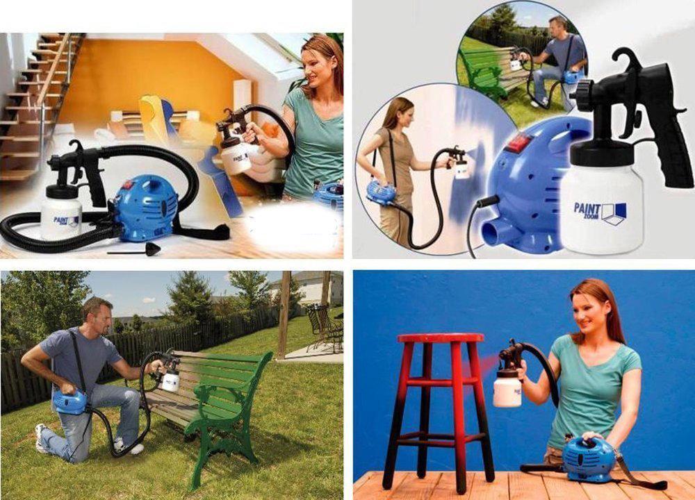 Pulvérisateur de peinture professionnel Paint Zoom 12