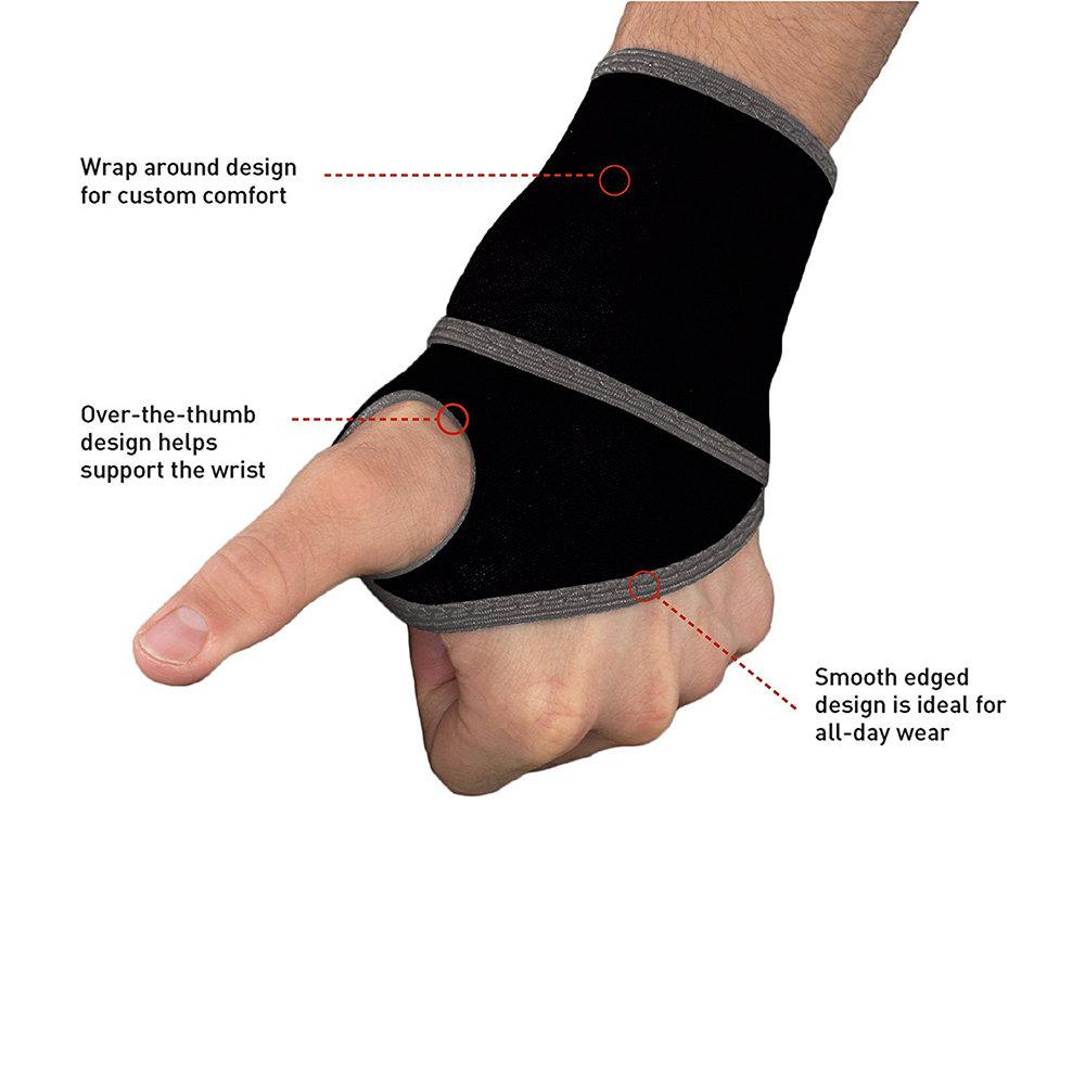 Sangle de compression réglable pour poignet 12