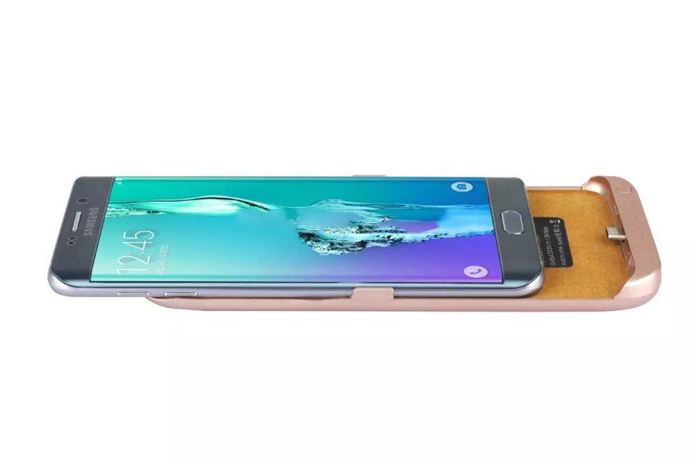 Coque batterie externe et chargeur rapide pour Samsung Galaxy S6 Edge+ - 11