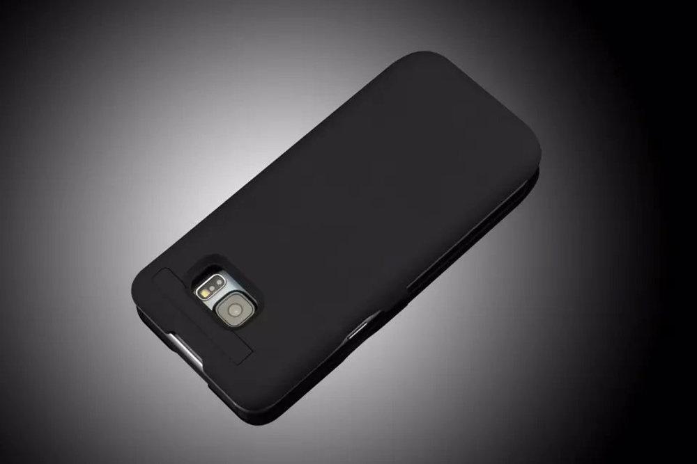 Coque batterie externe et chargeur rapide pour Samsung Galaxy S6 Edge+ - 12