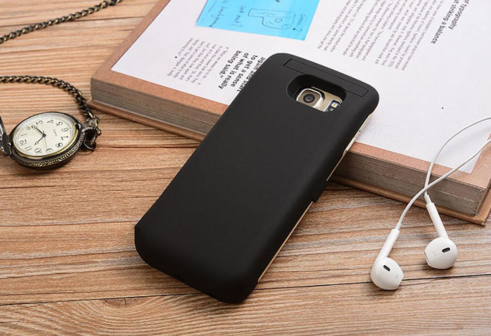 Coque batterie externe et chargeur rapide pour Samsung Galaxy S6 Edge+ - 13