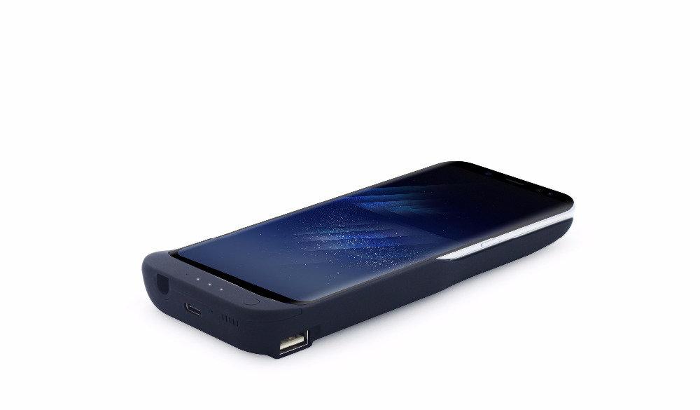 Coque batterie et chargeur rapide pour Samsung Galaxy S8 Plus - 13