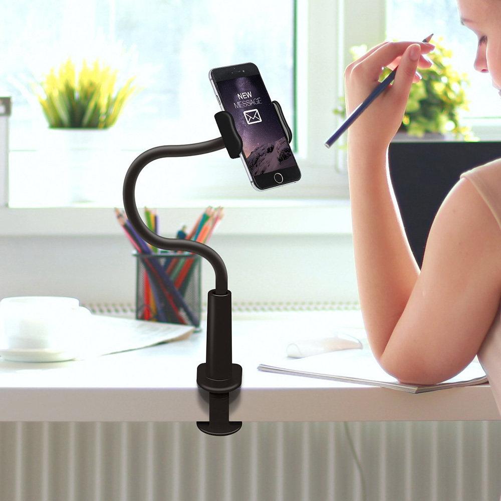 Support flexible pour smartphone avec rotation 360 degrés 14