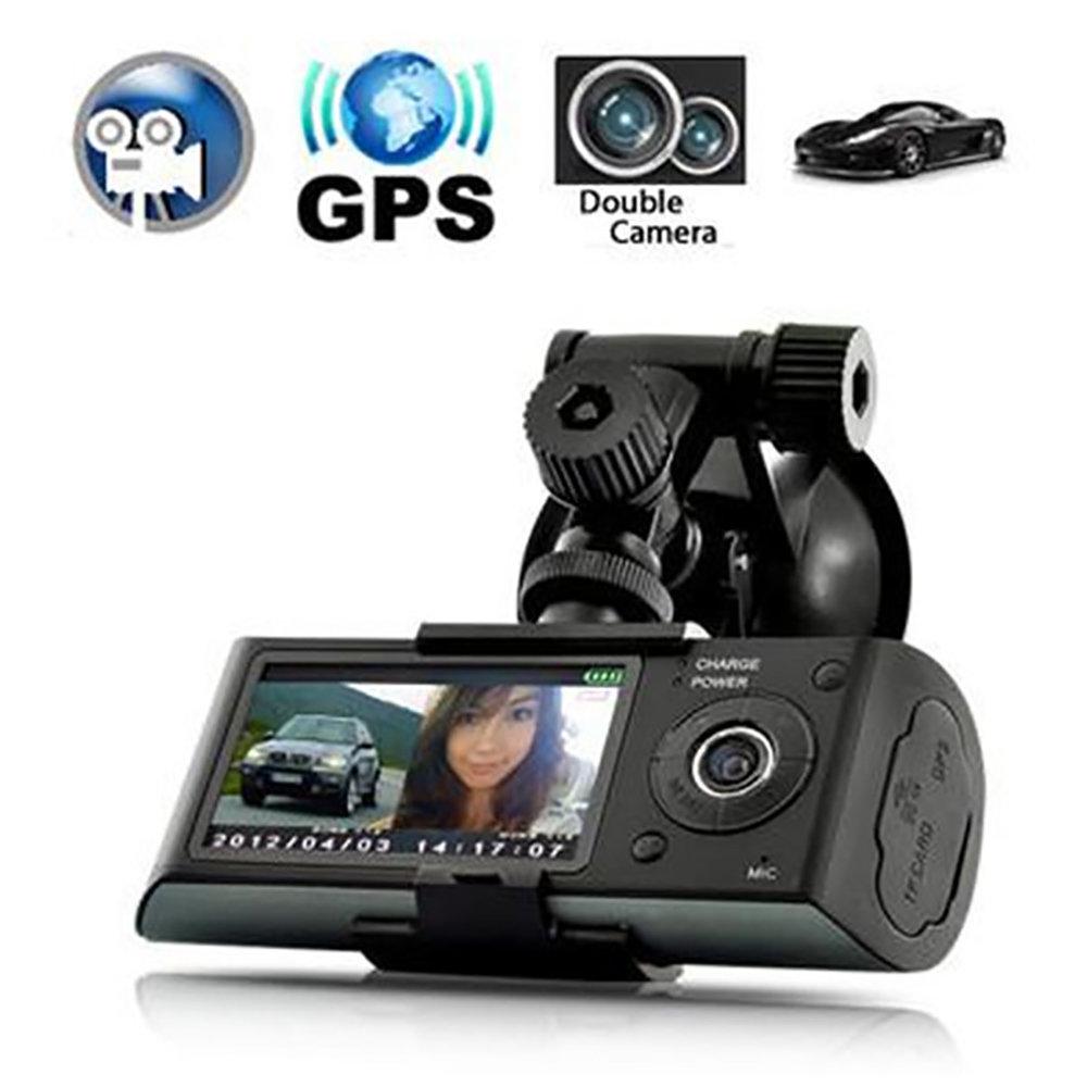 Dashcam double camera embarqué R300 avec GPS et détecteur de gravité 16