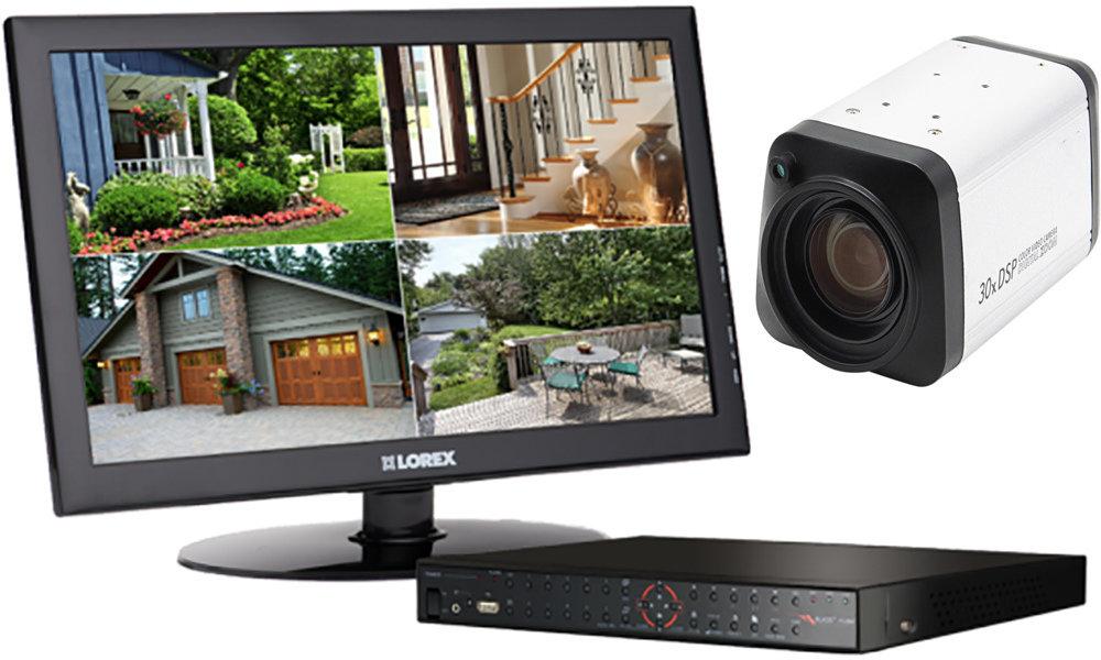 Caméra de zoom numérique CCTV 30X - 11