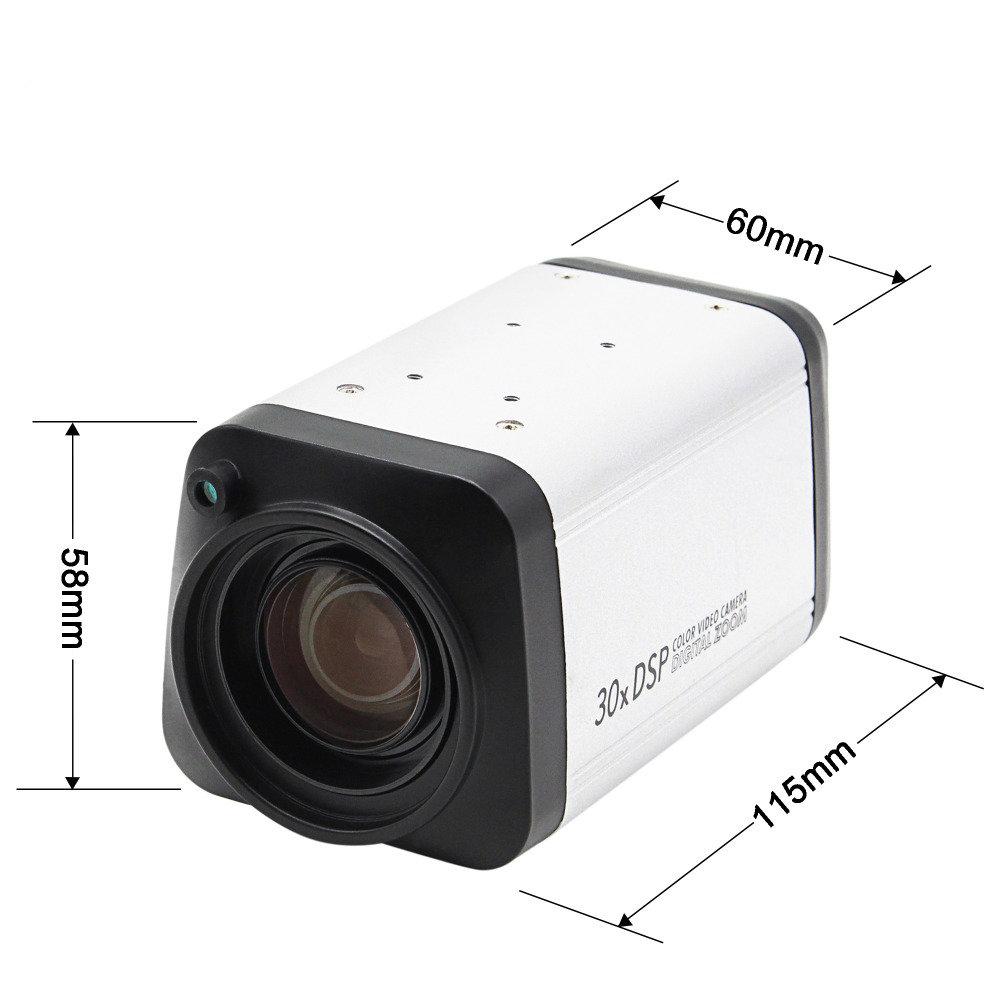 Caméra de zoom numérique CCTV 30X - 12