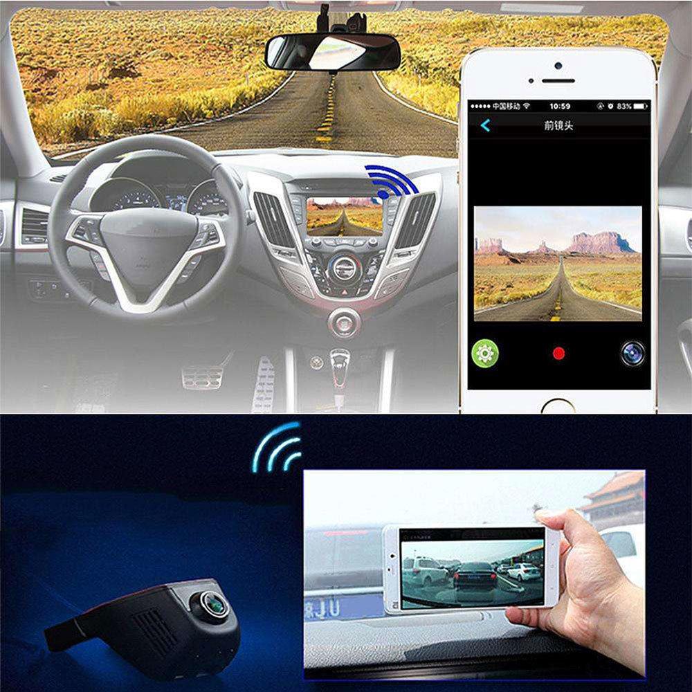 DashCam WIFI Double Caméra embarquée avec application sur smartphone 15