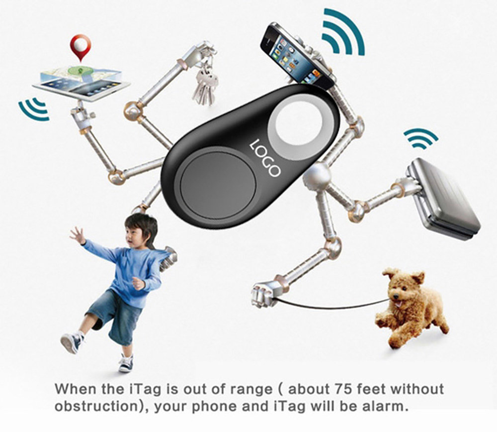 ITAG mini alarme Bluetooth anti-vol 11