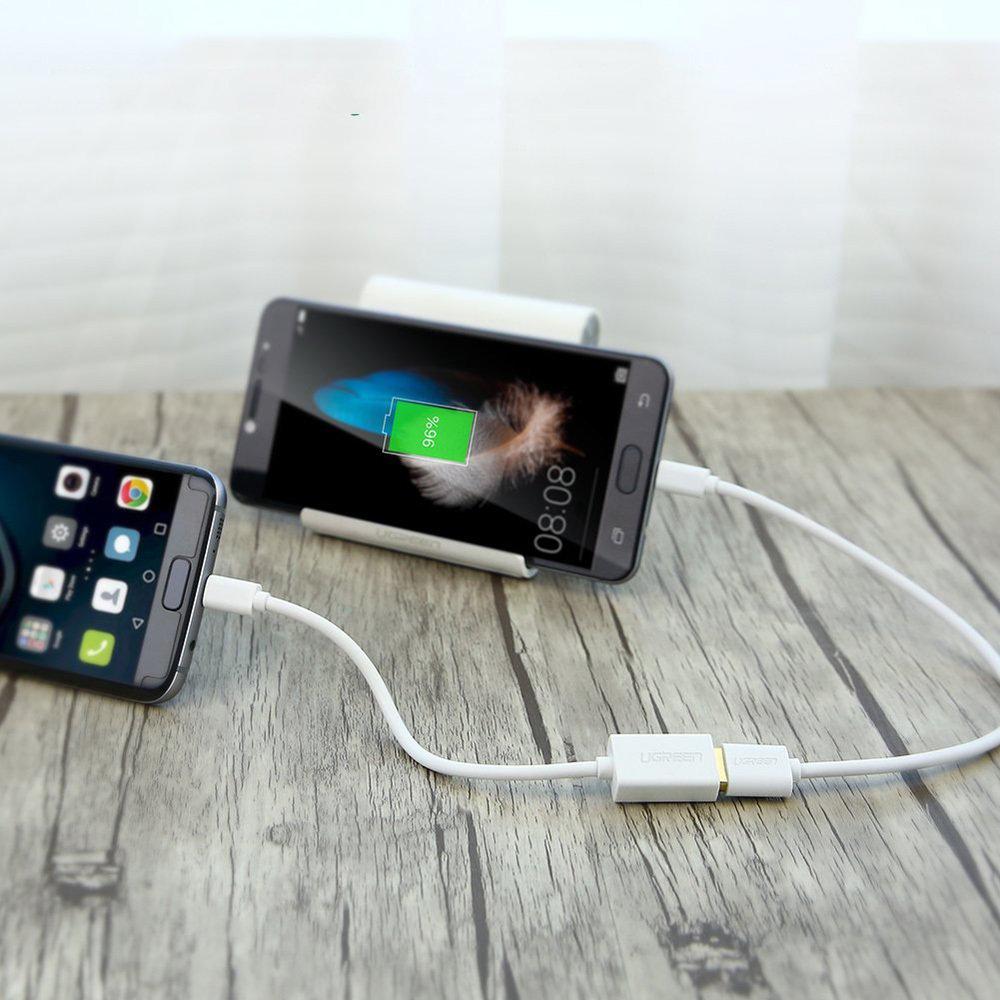 Micro USB OTG adaptateur USB Femelle à Micro USB Mâle 12