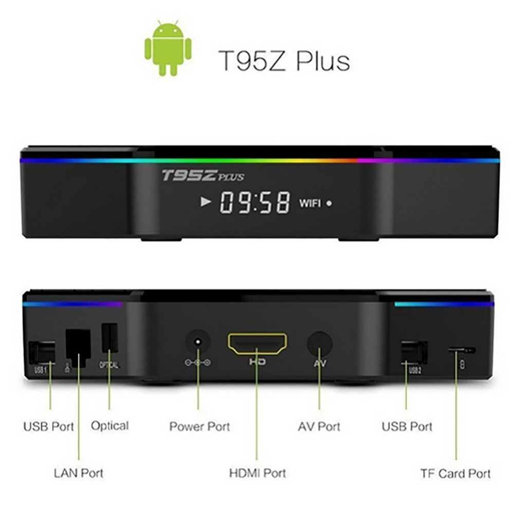 TV BOX Android T95Z PLUS - 12