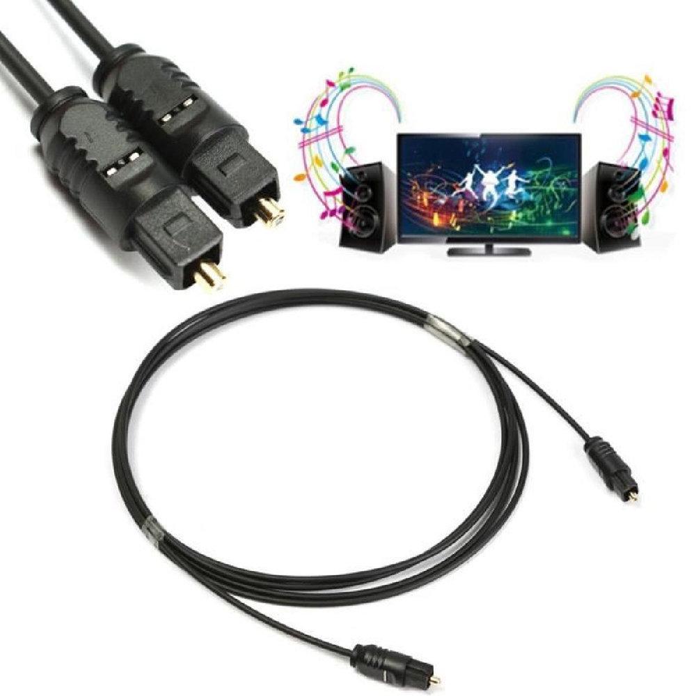 Câble à fibre optique Toslink - 2 Mètres - 11