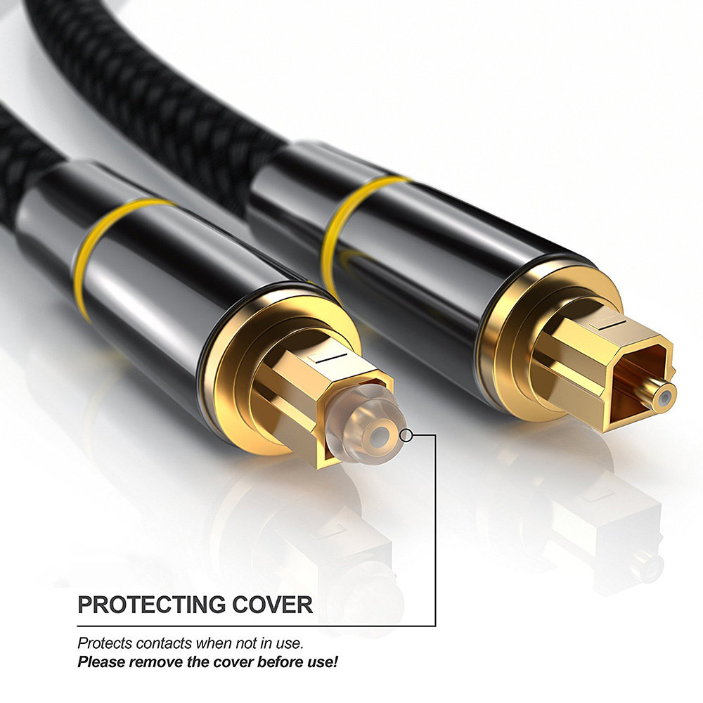 Câble à fibre optique Toslink - 2 Mètres - 12