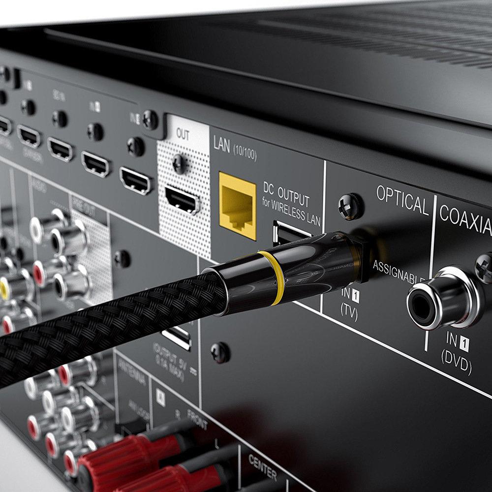 Câble à fibre optique Toslink - 2 Mètres - 13