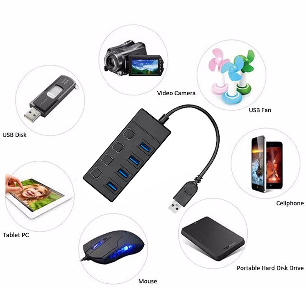 HUB USB 3.0 à 4 ports -12
