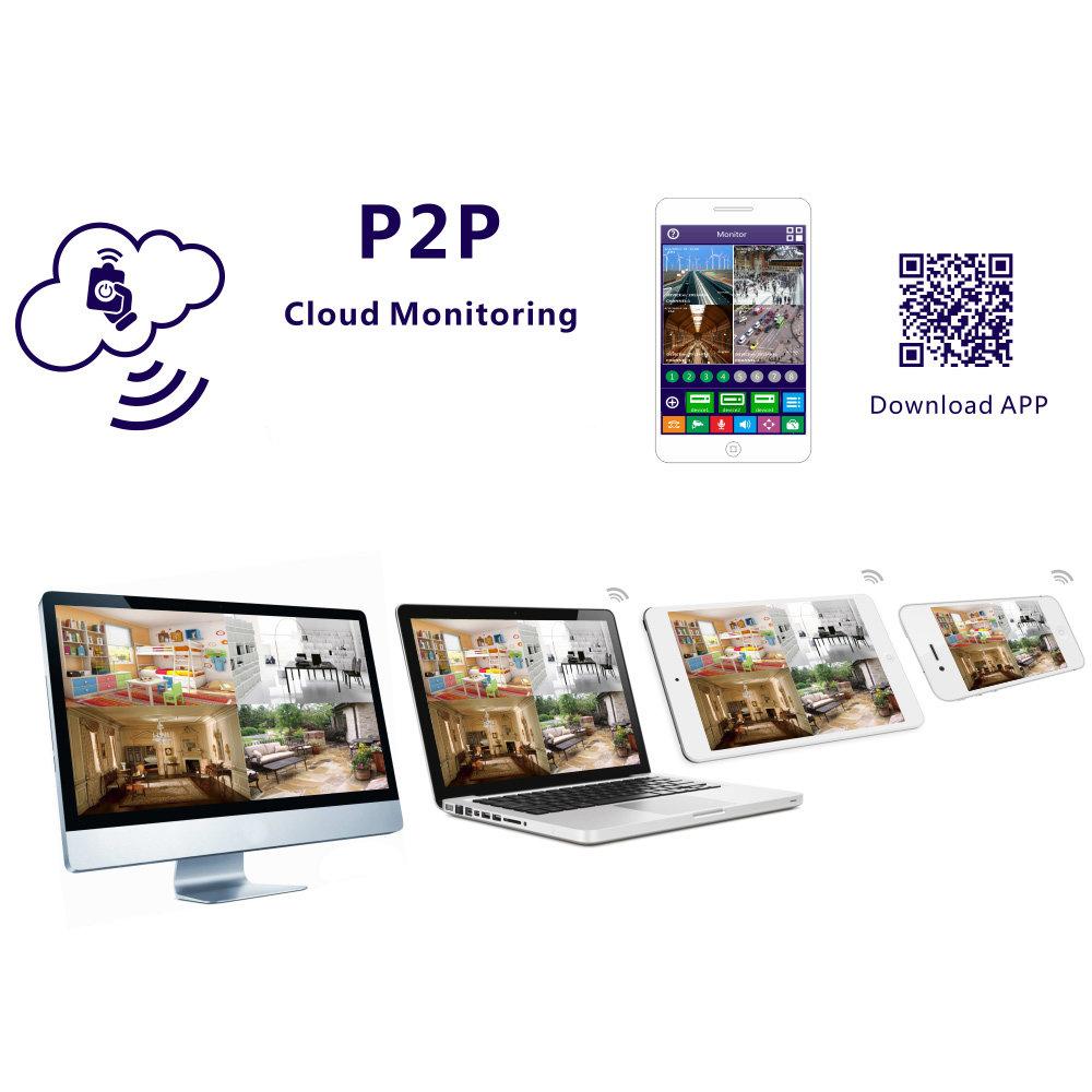 Enregistreur vidéo LCD pour caméras de sécurité IP - 13